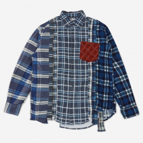 Rebuild 7 Cuts Flannel Shirt Size X-Large 3 - Assorted