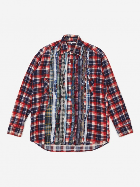 Rebuild Flannel Ribbon Shirt Size Medium 1 - Assorted