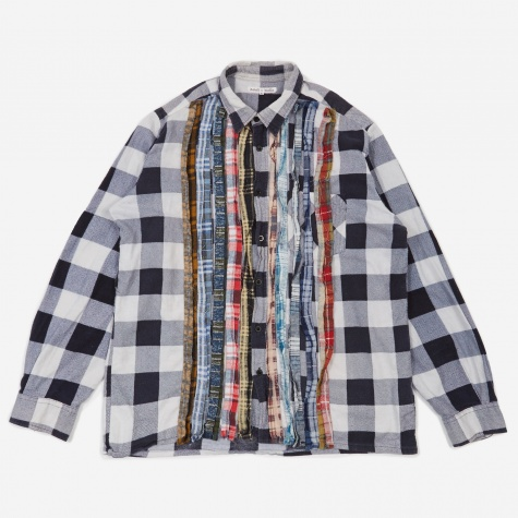 Rebuild Flannel Ribbon Shirt Size Large 2 - Assorted