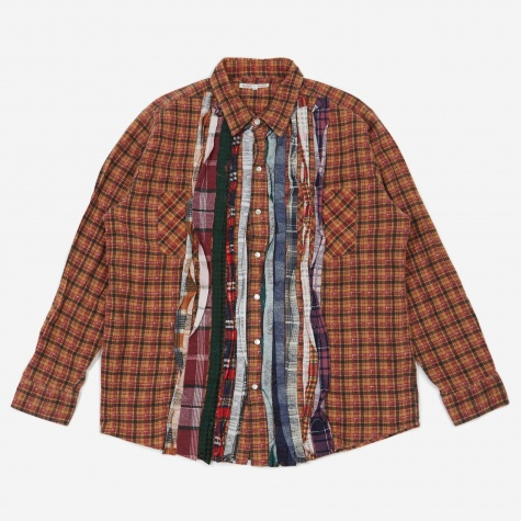 Rebuild Flannel Ribbon Shirt Size Large 3 - Assorted