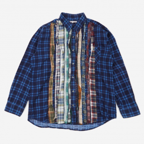 Rebuild Flannel Ribbon Shirt Size X-Large 1 - Assorted
