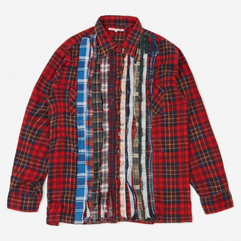Rebuild Flannel Ribbon Shirt Size X-Large 2 - Assorted