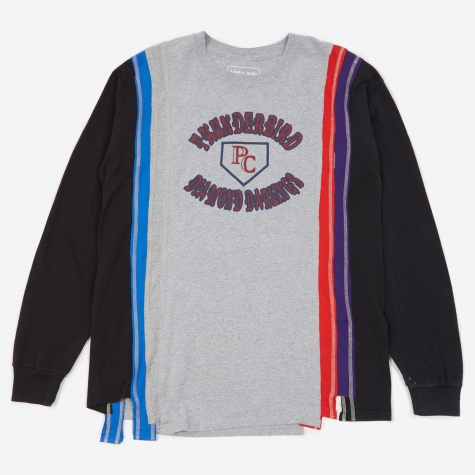 Rebuild 7 Cuts Longsleeve College T-Shirt Size Large 3 -