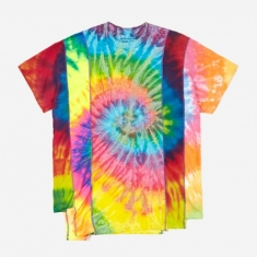 Needles Rebuild 5 Cuts Tie-Dye T-Shirt Size Small 1 - Assorted