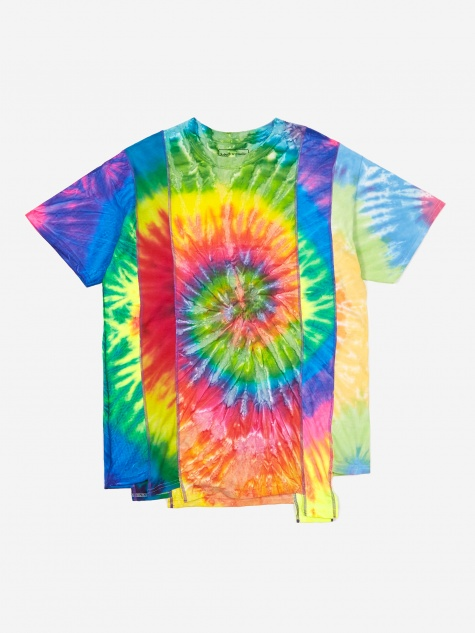 Rebuild 5 Cuts Tie-Dye T-Shirt Size Medium 2 - Assorted