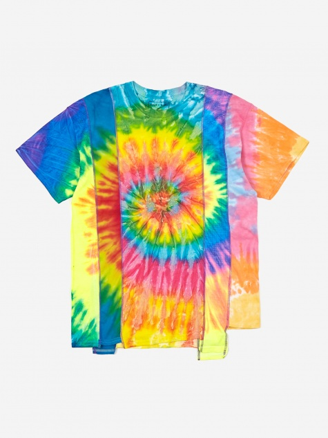 Rebuild 5 Cuts Tie-Dye T-Shirt Size Medium 3 - Assorted