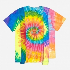 Needles Rebuild 5 Cuts Tie-Dye T-Shirt Size Medium 3 - Assorted
