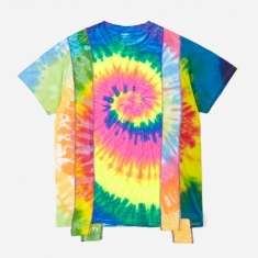 Needles Rebuild 5 Cuts Tie-Dye T-Shirt Size Medium 4 - Assorted