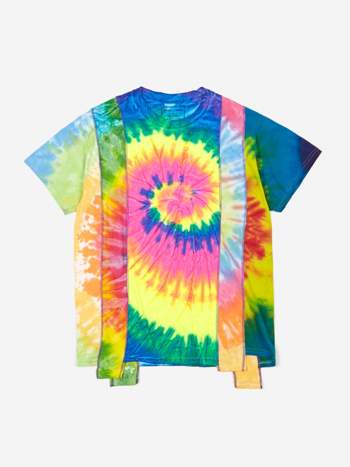 Needles Rebuild 5 Cuts Tie-Dye T-Shirt Size Medium 4 - Assorted (Image 1)
