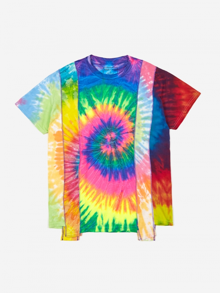 Needles Rebuild 5 Cuts Tie-Dye T-Shirt Size Medium 5 - Assorted (Image 1)