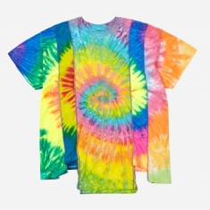 Needles Rebuild 5 Cuts Tie-Dye T-Shirt Size Large 1 - Assorted
