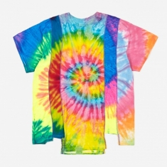 Needles Rebuild 5 Cuts Tie-Dye T-Shirt Size Large 2 - Assorted