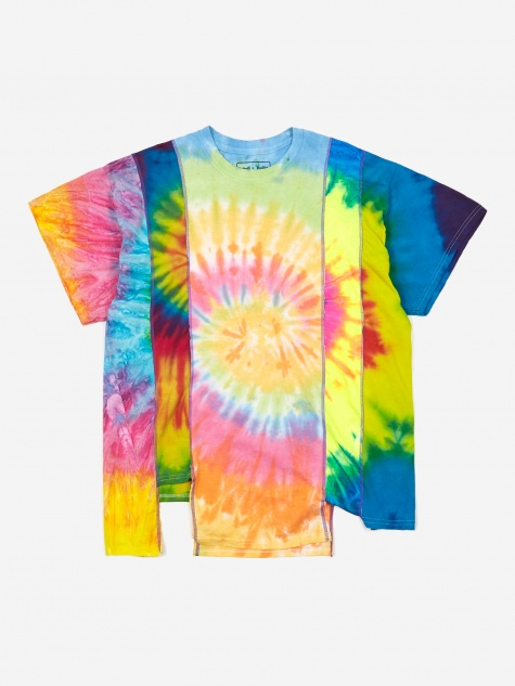 Rebuild 5 Cuts Tie-Dye T-Shirt Size Large 3 - Assorted