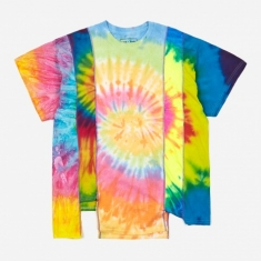 Needles Rebuild 5 Cuts Tie-Dye T-Shirt Size Large 3 - Assorted