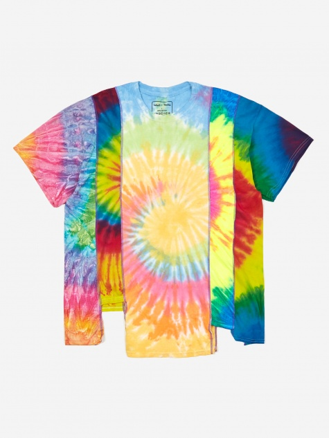 Rebuild 5 Cuts Tie-Dye T-Shirt Size Large 4 - Assorted