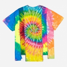 Needles Rebuild 5 Cuts Tie-Dye T-Shirt Size Large 5 - Assorted