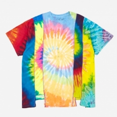 Needles Rebuild 5 Cuts Tie-Dye T-Shirt Size X-Large 1 - Assorted