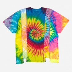 Needles Rebuild 5 Cuts Tie-Dye T-Shirt Size X-Large 2 - Assorted