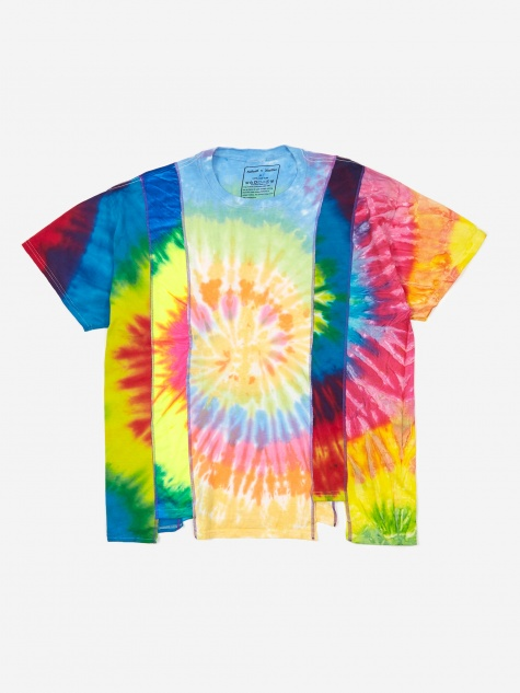 Rebuild 5 Cuts Tie-Dye T-Shirt Size X-Large 4 - Assorted