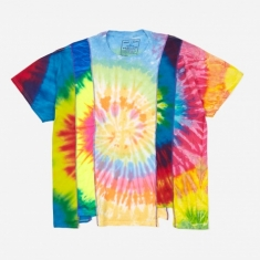 Needles Rebuild 5 Cuts Tie-Dye T-Shirt Size X-Large 4 - Assorted
