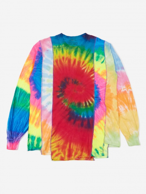 Rebuild 5 Cuts Longsleeve Tie-Dye T-Shirt Size Medium 3