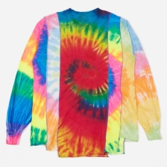 Needles Rebuild 5 Cuts Longsleeve Tie-Dye T-Shirt Size Medium 3