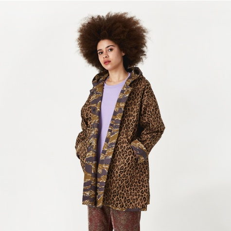 Reversible Bush Parka - Leopard/Tiger Camo