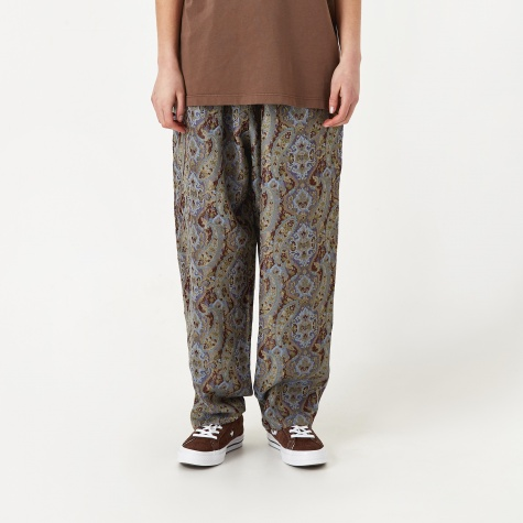String Paisley Easy Pant - Grey Lavender