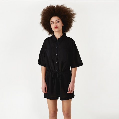 Short Jumpsuit - Black