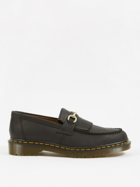 Dr. Martens x United Arrows Snaffle Loafer - Black Luxor Leather