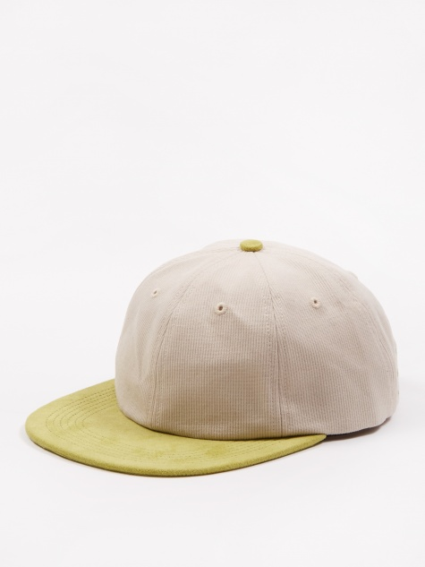 d433a5facbef6 Six Panel Hat - Off White Green