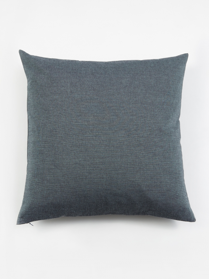 House Doctor Blue Tria Cushion - 50x50cm (Image 1)
