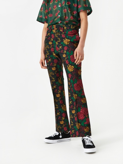 ARCHIVE Yester Wool Slacks - Flower