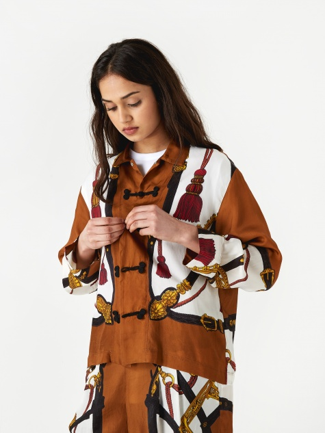 PULLA Inner Shirt - Brown