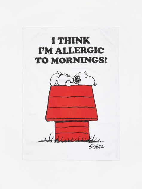 Tea Towel - Allergic to Mornings