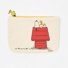 Peanuts Zipper Pouch - Gang & House