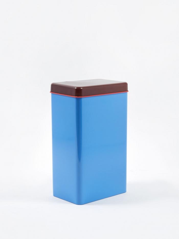 HAY Storage Tin By Sowden - Blue (Image 1)