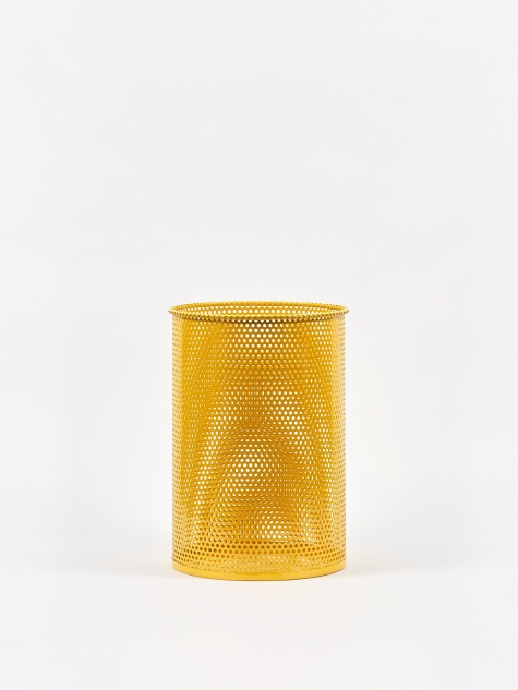 Perforated Bin Medium - Yellow