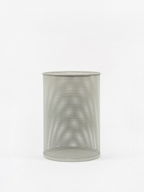 Perforated Bin Large - Light Grey