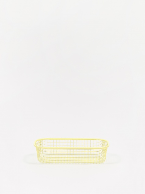 Trinkets Rectangular Tray - Light Yellow