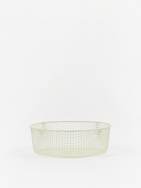Trinkets Round Tray - Pale Grey