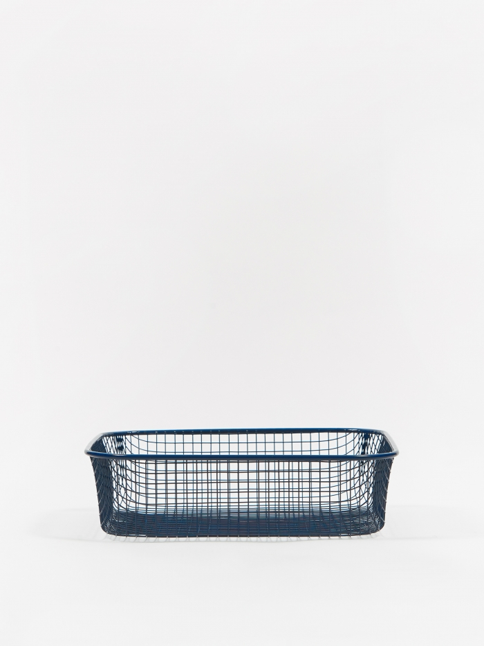 HAY Trinkets Square Tray - Dark Blue (Image 1)