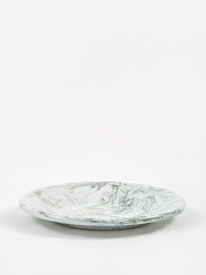 HAY Soft Ice Lunch Plate - Grey (Image 1)