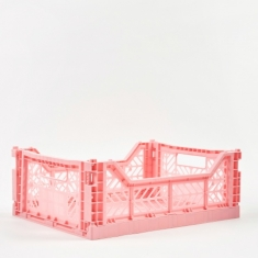 HAY Hay Colour Crate Medium - Light Pink