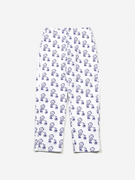 Calvin Trouser - White