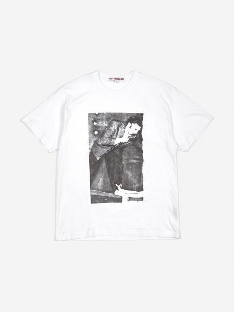 Alan Vega 'Artrite' Elvis T-Shirt - White