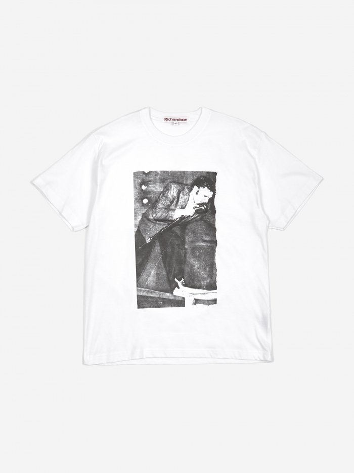 Richardson Alan Vega 'Artrite' Elvis T-Shirt - White (Image 1)