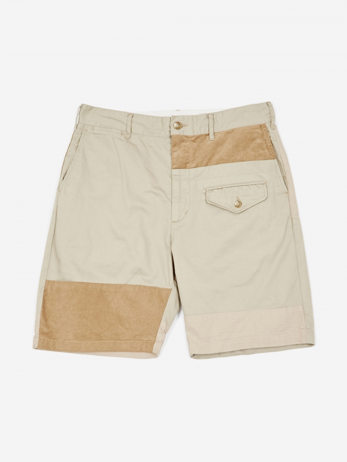 Engineered Garments Ghurka Short - Kahki (Image 1)
