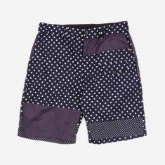 Engineered Garments Ghurka Short - Polka Dot