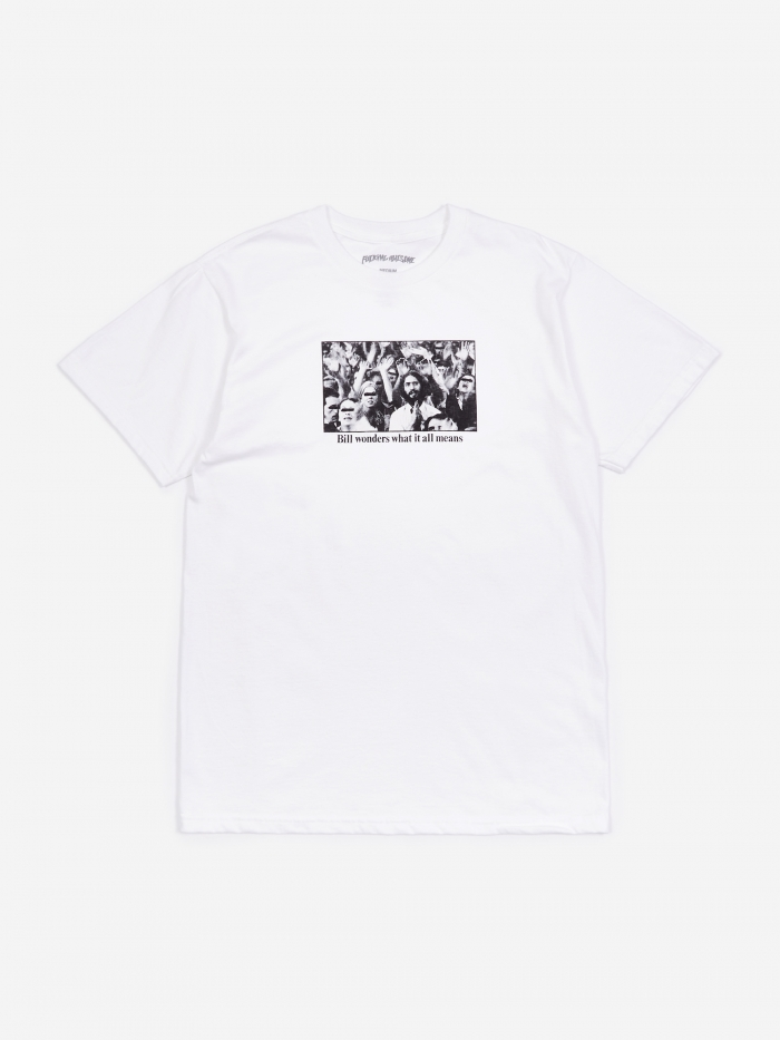 Fucking Awesome Bill T-Shirt - White (Image 1)